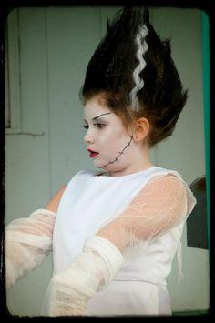 Halloween Costume, Bride of Frankenstein, DIY Costume