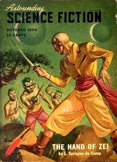 Astounding Science Fiction  Oct 1950