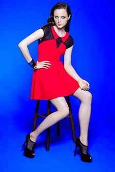 #MyImpulseIs Color!  Very cherry #sugarlips #dress #macys BUY NOW!