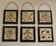 Maknue Arte Patagónico: COLGANTES PARA PARED - PIROGRABADOS