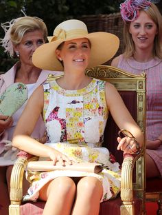 Princess Claire, July 21, 2013 in Fabienne Delvigne | Royal Hats.....Posted on January 18, 2015 by HatQueen..... I'm sure you will all join me in surrounding Princess Claire of Belgium in the very best of wishes for her 41st birthday today.