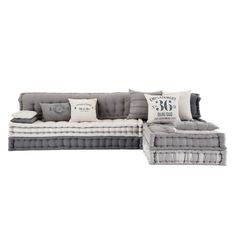 Divanetto-divano componibile multicolor Iroise 800€ mdm