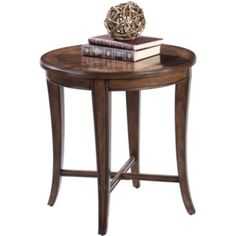 Dartmouth Round End Table  found at @JCPenney     sale $375 25 h  x  24 diameter