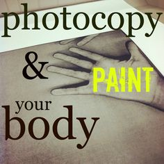 mamascout: exploration lab :: photocopy your body