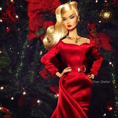 'Tis the season #PoppyParker #dollphotogallery @integrity_toys #beautysupremacy