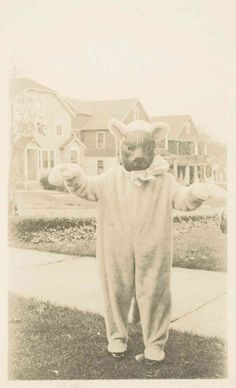 Vintage Halloween. May just be one of the creepiest things I've ever seen.