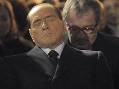 Silvio's never been all that into this democracy thing!