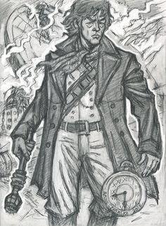 Young War Doctor by Raine Szramski