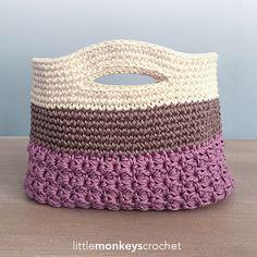 Huntley Gift Bag By Rebecca Langford - Free Crochet Pattern - (ravelry)