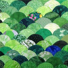 40 Shades Of Green Free Quilt Block Pattern