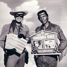 Clayton Moore (The Lone Ranger) and Jay Silverheels (Tonto) for Christmas Seals Vintage Everyday: Vintage Celebrity Christmas Ads Christmas Ad, Vintage Christmas, Christmas Candles, Christmas Shopping, Christmas Crafts, Radios, Nostalgia, Photo Vintage, Vintage Tv
