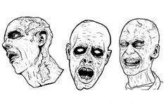color the zombiessss