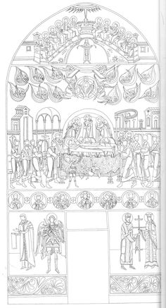 Byzantine Icons, Coloring Pages, Catholic, Projects To Try, Sketches, Christian, Cartoon, Embroidery, Drawings