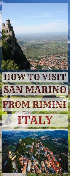 San Marino day trip from Rimini - how to visit on your own, things to do and see in San Marino, where to eat and should you stay overnight? Did you know, that San Marino is the world's oldest surviving republic? It is also one of the smallest countries in the world. Read more in this post..