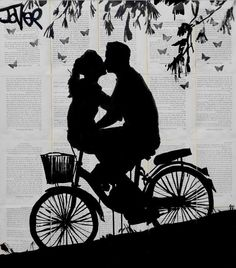 """a little love and adventure"", by Loui Jover."