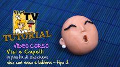 #VIDEO #CORSO: #Visi e #capelli in #pdz - #Viso con #naso e #labbra - tipo 3