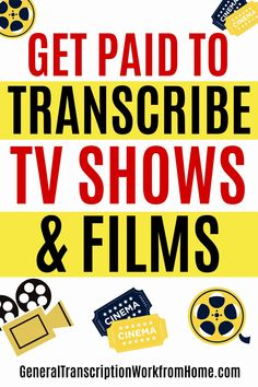Get paid to transcribe films