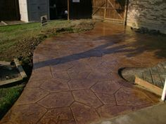 Newest Stamped Concrete Patterns Pati   Pictures, Photos, Images