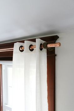 Hometalk :: Thrifty Copper Pipe Curtain Rod