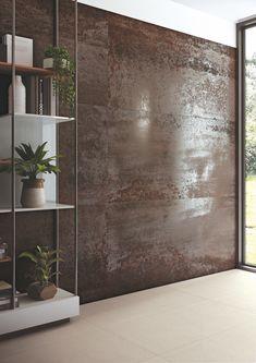 Interior Cladding, Wall Cladding, Interior Walls, Design Wc, Wall Decor Design, Metallic Wall Tiles, Venetian Plaster Walls, Modern Entrance, Inspiration Wall