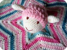 Manta de Apego em Crochet