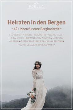 Dem Himmel so nah bei einer Heirat in den Bergen! Ob Standesamt, Kirche, Kapelle, Alm, Berghütte, Chalet, See, urig oder schick, werdet bei unseren 42 Ideen für eure Hochzeit in den Bergen fündig!  ..................................    #hochzeit #berghochzeit #trauung #berge   Berghochzeit, Hochzeit Berge, Heiraten in den Bergen, Hochzeit in den Bergen, Alm Hochzeit, Almhochzeit, Hochzeit auf der Alm, Hochzeitslocation, Berge, Standesamtlich, Kirchlich, Feier, Hochzeitsfeier Bergen, Future, Wedding Dresses, Cottage Wedding, Church Weddings, Registry Office Wedding, Bride Dresses, Future Tense, Bridal Gowns