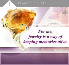 #Jewellery is a way of keeping memories alive.