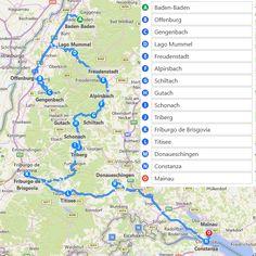 BADEN-WÜRTTEMBERG (Selva Negra, ...) - Diarios - Itinerarios de 1 a 4 días (Información General - Alemania) - Tips de Viajes - LosViajeros