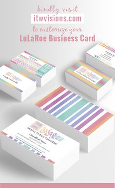 I'm so excited to add LuLaRoe business card design templates to my store front. Please let me know how I can help you promote your brand and grow your LuLaRoe fashion business. Soon, other items will be added...such as Thank you cards, Referral punch cards, discount cards and more digital marketing graphics to help promote your brand and business. (LuLa Roe fashion buttery leggings.)
