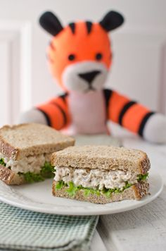 Hobbes' Favorite Tuna Salad (Could throw a comics party with the characters and their favorite foods--Garfield/lasagna, Snoopy/chocolate chips cookies etc)