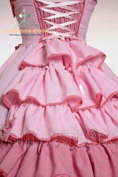 Pink ruffles