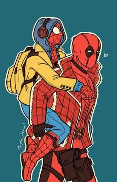 Read from the story Imágenes Spideypool/SuperFamily Y Otros CANCELADA. Marvel Comics, Marvel Comic Universe, Marvel Funny, Marvel Art, Marvel Memes, Marvel Cinematic Universe, Marvel Avengers, Deadpool X Spiderman, Spiderman Art