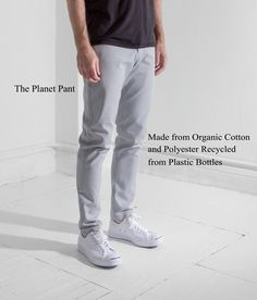Our Planet Pant makes sustainability look good. Breathable yet extremely durable, throw them in your bag for a weekend trip or wear them to work. Wrinkle-resistant and quick-drying.