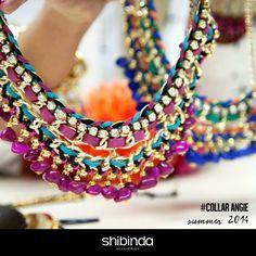 Angie Necklace Shibinda accesorios# buenísimo diseño que inspira a locura propia en la próxima colección 2014