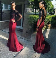 Red dress gala ideas de jardines