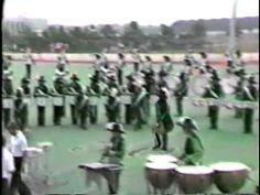 Cavaliers 1981 DeKalb DCM Show - Drumline low camera