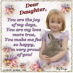 Super birthday quotes for daughter from mother words ideas Son And Daughter Quotes, Message To Daughter, Birthday Message For Daughter, I Love My Daughter, My Beautiful Daughter, Best Birthday Wishes, Birthday Love, Birthday Messages, Birthday Bash