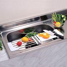 Shop BYN Kitchen Sink Cutting Board Chopping Block Plastic Chopping Board