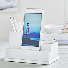Cell phone Desk Organizer Charging Station $19 @ PBTeen