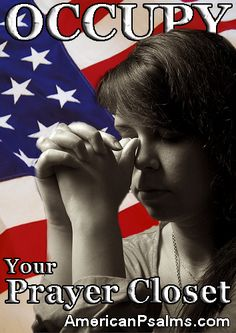 National Day of Prayer | Pray for America at www.americanpsalms.com | Praying for the nation.    Design by Joshua J Masters. Original prayer photo by khrawlings
