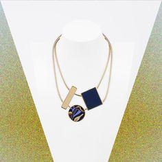 geometric-3-elements MarinaFossati S/S 2016 Bling Bling, Arrow Necklace, Jewelry, Jewlery, Jewerly, Schmuck, Jewels, Jewelery, Fine Jewelry