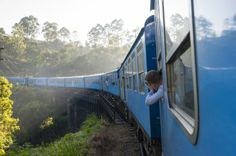 Sri Lanka - Ella vers Nuwara Eliya en Train