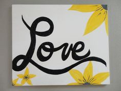 Hand Painted Picture on Canvas by KLKDesignsLLC on Etsy