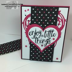 Stamps-N-Lingers.  Layering Love, Pop of Pink, Sweet & Sassy Framelits, Swirly Bird, Swirly Scribbles Thinlits. https://stampsnlingers.com/2016/06/02/stampin-up-pop-of-pink-layering-love-for-the-happy-stampers-blog-hop/