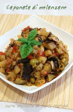 Caponata di melanzane, ricetta, cucina preDiletta