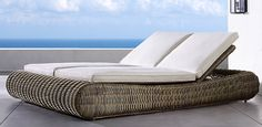Sorrento Grey | Restoration Hardware outdoor lounge chair