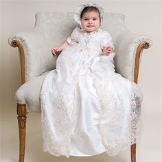 Kristina 2pc Christening Gown: beautiful but way too expensive