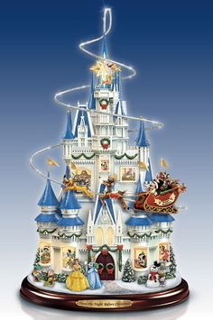 Disney Night Before Christmas Tree Bradford Exchange Storytelling w/ Lights found at the_seller_inc