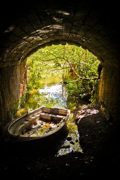 Her Enchanted Garden... A place to park the boat (1) From: Beautiful Portals, please visit