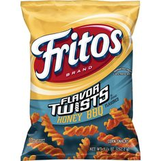Fritos Honey BBQ Twists Corn Chips 925 Ounce ** Details can be found by clicking on the image. Corn Snacks, Savory Snacks, Yummy Snacks, Snack Recipes, Honey Recipes, Snacks For Work, Healthy Work Snacks, Diet Snacks, Corn Chip Salad